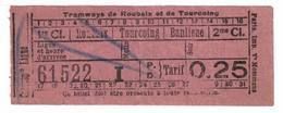 Tramways De Roubaix Et De Tourcoing - Tramways