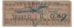 Tramways De Roubaix à Herseaux - Tramways