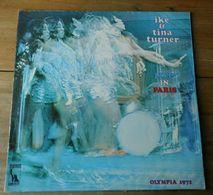 "Vinyle ""Ike & Tina Turner"" Live In Paris Olympia 1971 - Soul - R&B"