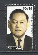 MAURITIUS 2011 - SIR MOILIN JEAN ALI CHUEN, POLITICIAN - POSTALLY USED OBLITERE GESTEMPELT USADO - Maurice (1968-...)