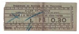 Tramways De Roubaix à Wattrelos - Tramways