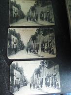 Lot De 3 Cartes Postales Nexon Rue Du Nord - Non Classés