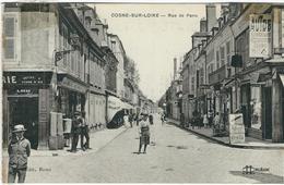 Nièvre : Cosnes Sur Loire, Rue De Paris - Cosne Cours Sur Loire