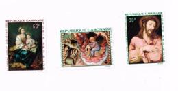 Peintures MNH,Neuf Sans Charnière,Falzlos.Yvert PA 66/8 - Gabon (1960-...)