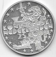 Pays Bas - 25 Ecus - 1994 - Argent - [ 3] 1815-… : Koninkrijk Der Nederlanden