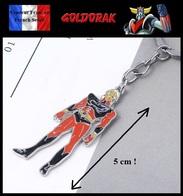 1 Porte Clés NEUF En Métal ( Keychain ) - Manga Goldorak Grendizer Actarus 5 Cm ! - Porte-clefs