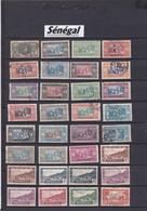 VRAC COLONIES FRANCAISES /  SENEGAL   / OBLITERATIONS  à Voir- REF MS - Lots & Kiloware (mixtures) - Max. 999 Stamps
