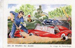 24 Heures Du Mans  -  Dans Les 'S' Du Tertre Rouge -  Art Carte Par Alde - Le Mans