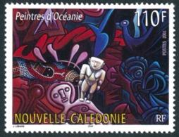 NOUV.-CALEDONIE 2001 - Yv. 846 NEUF   Faciale= 0,92 EUR - Peintres D'Océanie  ..Réf.NCE24235 - New Caledonia