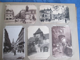 Album De Famille Cartes Postales   France . Fantaisies . Cartes Photos . Villages  . Plus De 300 Cartes - 100 - 499 Postkaarten