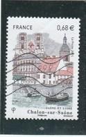 FRANCE CHALON SUR SAONE OBLITERE 2015 - YT 4947 -                                  TDA268 - France