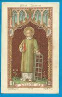 Holycard   St. Augustinus    223   St. Laurentius - Images Religieuses
