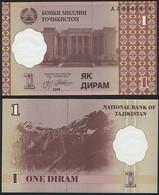 Tajikistan P 10 - 1 Diram 1999 - UNC - Tagikistan