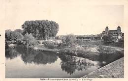 A-19-1378 : SAINT AIGNAN. BORDS DU CHER. L ILE PLAGE. - Saint Aignan