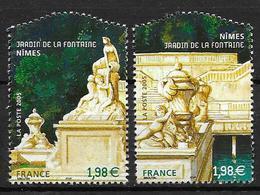 France 2005 N° 3786/3787 Neufs Jardins De France Sous Faciale - Nuevos
