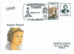 COV 22 - 357 ALEXANDRE DUMAS - QUEEN MARGOT, Romania - Cover - Used - 2008 - Schrijvers