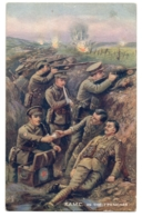 """CPA Militaria - TUCK And Son """"""""Oilette"""""""" - 8821. Royal Army Medical Corps . R.A.M.C. In The Trenches - Militaria"""