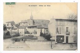 SAINT DONAT  (cpa 26)  Hôtel De Ville   -  L 1 - Autres Communes