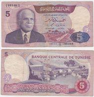 Tunisia P 79 - 5 Dinars 3.11.1983 - Fine+ - Tunisia
