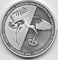 Pays Bas - Médaille - Argent - [ 3] 1815-… : Kingdom Of The Netherlands
