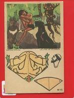 TISANE CHARTREUX DURBON Image à Découper Plier Coller Livre Jungle  RUDYARD KIPLING Panthère Mowgli - Chromos
