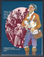 Portugal Yv Carnet C 2219 (2219x10) Série Courante : Professions Et Personnages,vendeur De Canards  ** Mnh - Libretti