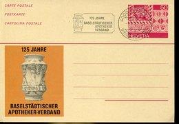 41806 Switzerland, Stationery With Special Postmark Basel 1987 Apotheke Verband, Pharmacie, Pharmacy - Pharmacy