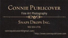 Connie Publicover Fine Art Photography, NS (VC526) - Visiting Cards