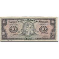 Billet, Équateur, 10 Sucres, 1983-04-20, KM:114b, B+ - Equateur