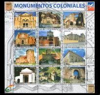 DOMINICAN REPUBLIC MONUMENTOS COLONIALES MNH 2017 - Dominikanische Rep.