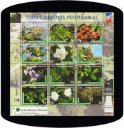 Dominican Republic Flowers, Trees, Botanic Garden MNH 2016 - Dominikanische Rep.
