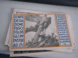 TESSERA CONFEDERAZIONE FASCISTA DEGLI INDUSTRIALI ANNO XIX - Old Paper