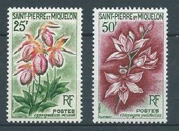 SAINT PIERRE ET MIQUELON 1962 . N°s 362 Et 363 . Neufs ** (MNH) . - Neufs