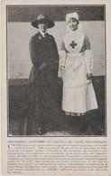 PERSONNEL AUXILIAIRE SERVICE SANTE BRITANNIQUE - Croix-Rouge