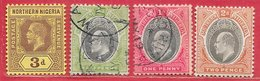 Nigeria Du Nord N°43 & Nigeria Du Sud N°10, 11, 23 1903-12 - Nigeria (...-1960)