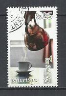 MAURITIUS 2011 - TEA INDUSTRY -  POSTALLY USED OBLITEE GESTEMPELT USADO - Maurice (1968-...)