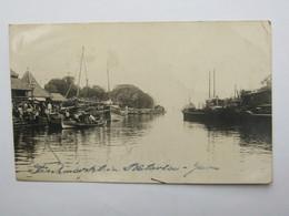Briefkaart   A Duitsland - Niederländisch-Indien
