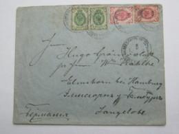 1902 , Brief Nach Deutschland - 1857-1916 Imperium