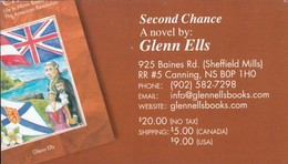 Second Chance Starting Over, Cannings NS (VC517) - Visiting Cards