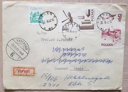 Poland 1982 Poznan To Denmark - Unclassified