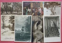 Lot 7 Old Art Postcards - 5 - 99 Karten