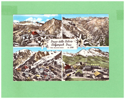 1960 STELVIO IL PASSO 4 VEDUTINE COLORITA A MANO VIAGGIATA X LA SVIZZERA - Bolzano (Bozen)