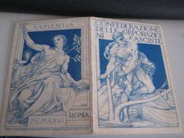TESSERA CONFEDERAZIONE NAZIONALE SINDACATI FASCISTI - Old Paper