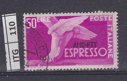 ITALIA   1952AMG FTTDemocratica Espressi 50 L Usato - Gebraucht