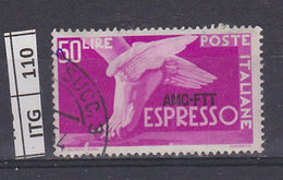 ITALIA   1952AMG FTTDemocratica Espressi 50 L Usato - 7. Triest