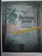 Lot 5 Banco Central Mexicano 100 £ Vert  + Coupons - Azioni & Titoli