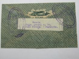 1934,  Lettre Postal  A  Allemanha,  A R - Brasil