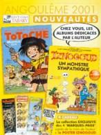 TABARY : Catalogue 2001 - Autres