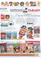 TABARY : Catalogue 2002 - Livres, BD, Revues