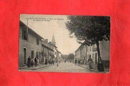 F2501 - Les HALLES - 69 - Rue De L'Eglise Et Route De St Foy - Francia